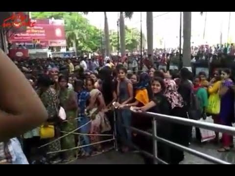 Baahubali Advance Booking Hungama @ Prasads Imax | Amazing Crowd!!!
