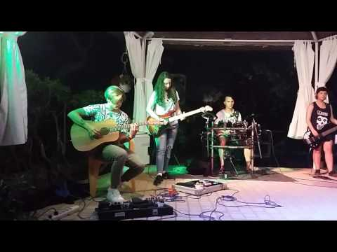 Back To Black - Amy Winehouse (Cover by Camp Rock's Band) live