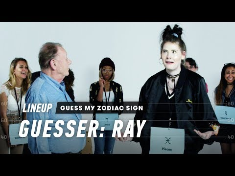 An Astrologer Guesses Strangers' Zodiac Sign (Ray) | Lineup | Cut
