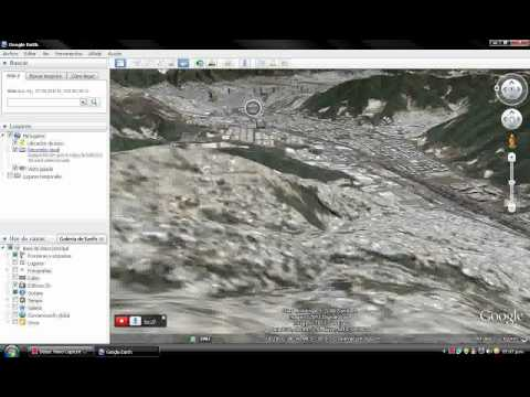 Video y simulaciones de vuelo con Google Earth