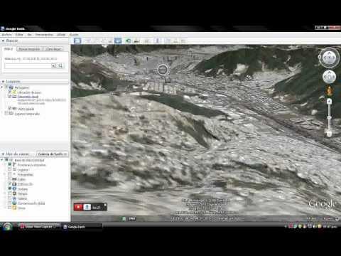 Video y simulaciones de vuelo con Google Earth