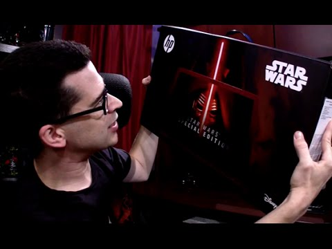 Unboxing the Star Wars Special Edition Notebook from HP