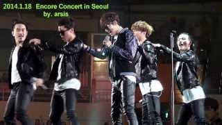 Video 직캠) 2014.1.18 이민호 Encore Concert in Seoul -  Love Motion & My Little Princess ★ ( by. 아르시스) MP3, 3GP, MP4, WEBM, AVI, FLV Agustus 2018
