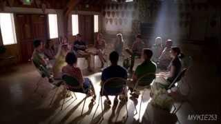 True Blood - Sarah Newlin and Jason's group meeting Season 2 Episode 3