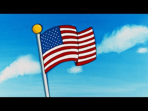 CEL ANIMATION IS BACK - The Animated Spangled Banner by Michael Ngo
