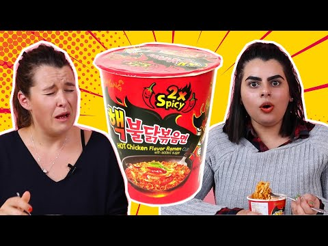 We Tried To Eat The World's Spiciest Instant Noodles In 5 Minutes