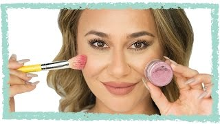 How To Make Your Own Blush - Organic & Simple! - YouTube