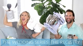 Welcome back to the wedding series!! In this video we talk about where we registered and what to register for and why we LOVE what we've received so far! Thanks so much for watching!! Please thumbs up and subscribe!!!Product Links:Couch: http://rstyle.me/n/cmbbk2byr9pMy Links:Blog: http://malloryervin.comInstagram: @malloryervinSnapchat: malloryervinTwitter: @malloryervinFacebook: @TheOfficialMalloryErvin and @malloryervinPinterest: malloryervinKyle's Instagram: @kyledimeola