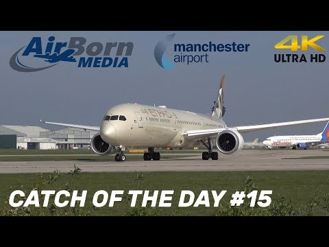 Catch Of The Day #15 Awesome Close Up Etihad 787-10 Dreamliner 4K Plane Spotting