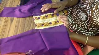 simple blouse patch work cutting in tamil
