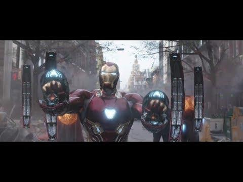 AVENGERS INFINITY WAR -  Battle in New York - IRON MAN vs BLACK ORDER Movie Clip HD