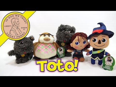 Legends of OZ Toto With Sounds Plush Dog #33530, BanDai Toys
