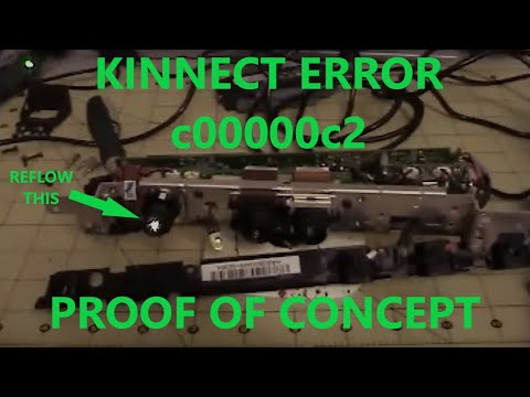 comment reparer kinect
