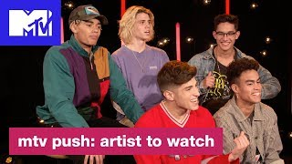 Video PRETTYMUCH on Throwing Parties, Crying In Movies & More! | MTV Push: Artist to Watch MP3, 3GP, MP4, WEBM, AVI, FLV Maret 2018