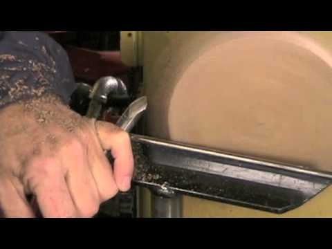 gouge - This video is to show how to use a bowl gouge or spindle gouge to rough out or round out a platter or bowl. A roughing gouge is dangerous for this operation.