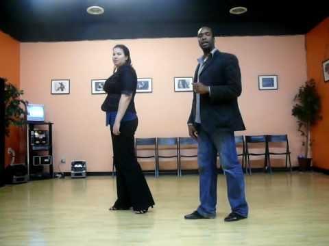 Свинг: базовая хореография. Обучающее видео.