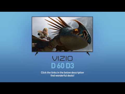 "All-New 2016 VIZIO D60-D3 D-Series 60"" Class Full‑Array LED Smart TV // Full Specs Review  #VIZIO"