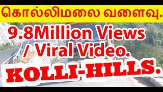 Video Lorry Comes Slowly Return in Kollimalai Hairpin Bend Road at Namakkal. MP3, 3GP, MP4, WEBM, AVI, FLV September 2018