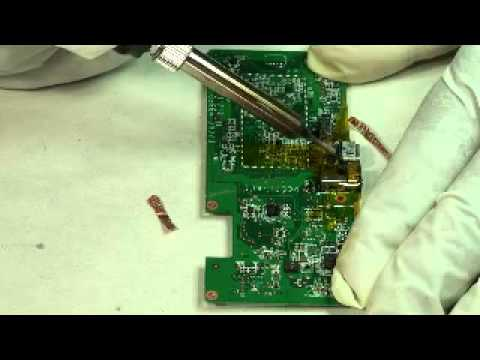 "Amazon Kindle Fire 7"" USB charging power problem port solder repair"