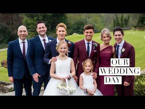 Tom Daley and Dustin Lance Black's Wedding Video I Tom Daley (видео)