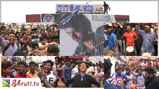 Video Ilayathalapathy Vijay Birthday Mass celebration at Vettri Theatre - Pokkiri Re-Release download in MP3, 3GP, MP4, WEBM, AVI, FLV January 2017
