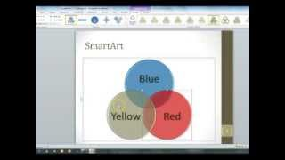 PowerPoint 2010 SmartArt Graphics and Charts