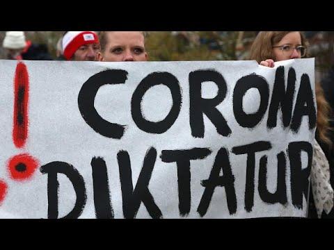 Covid: Διαδηλώσεις αρνητών σε Βρετανία και Γερμανία