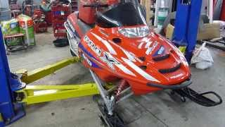 7. 2003 Polaris Edge Pro X 600 For Sale, Parting Out Only, Blown Motor Still Runs!!!