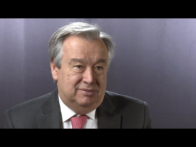 Philanthropy 360º: António Guterres, UN High Commissioner for Refugees