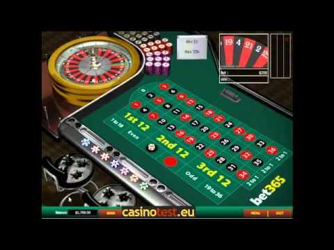 European Roulette Video