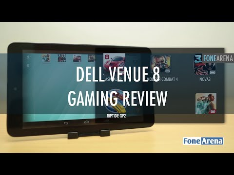 Dell Venue 8 Gaming Review