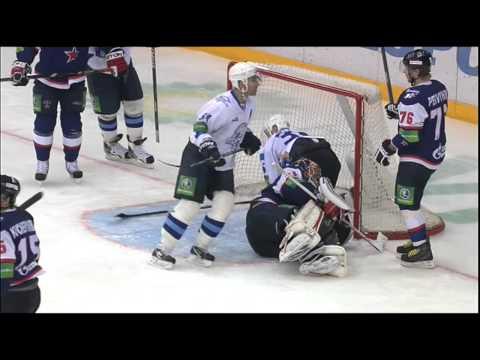 Драка: Первышин vs Руденко / KHL fight: Pervyshin vs Rudenko (видео)