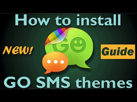 Video of GO SMS Pro Jelly Bean 3D Theme