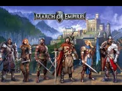 March Of Empires- ATLANTIS GAMEPLAY