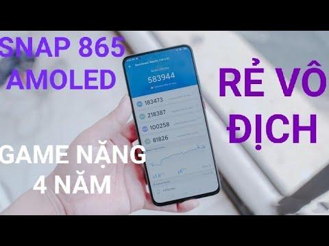 HĐCN: ĐT SNAP 865, AMOLED, GAME NẶNG 4 NĂM, RẺ VÔ ĐỊCH, Redmi K30i hơn 2 TRIỆU?