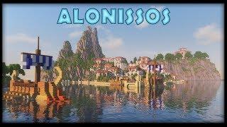 Alonissos :: Epic Greek Island City Timelapse build Minecraft 1.13 [WORLD DOWNLOAD]