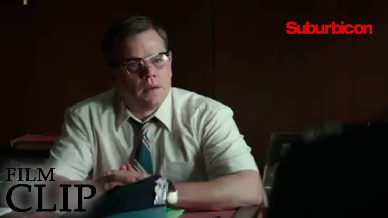 It's a nice strange Deadly place to Live in George Clooney's 'Suburbicon' (Clip) with Matt Damon, Oscar Isaac & Julianne Moore