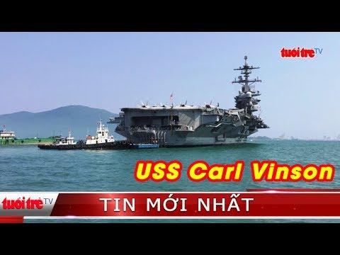Tiếp cận hàng không mẫu hạm USS Carl Vinson: kế hoạch thay đổi như chong chóng