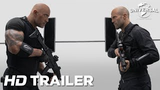 Fast & Furious: Hobbs and Shaw | Official Trailer | August 2