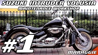 8. Suzuki Intruder Volusia - Maintenance workshop part #1 - disassembly