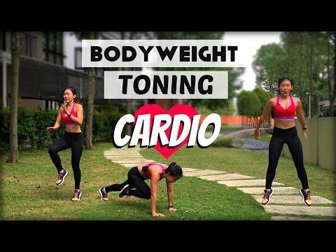 High Intensity Bodyweight Cardio | Intermediate to Advance | 150Cals in 10mins | Joanna Soh