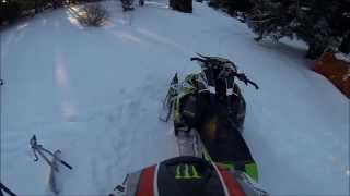 5. 2013 Arctic Cat xf 800 Sno Pro First Ride