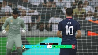 Real Madrid vs Arsenal Penalty Shootout Simulated #PES2017 [New Kits 2017/18]Subscribe : https://goo.gl/hOkuyhTwitter : https://twitter.com/LionelPesG+ : https://goo.gl/Bz7FAmPatch : SS Patch Scoreboard : PES 2018 by aziz17 https://goo.gl/d9qAGGAdboard : PES 2018 by Abid Nabawi https://goo.gl/okOQzOKits : Kits Pack 2017/18 HD V3 by Geo_Craig90  https://goo.gl/QUEd8vPES 2017 Fantasy Gameplay/Penalty Shootout : https://goo.gl/gPYg18PES 2017 All Star Gameplay/Penalty Shootout : https://goo.gl/PKXzD8