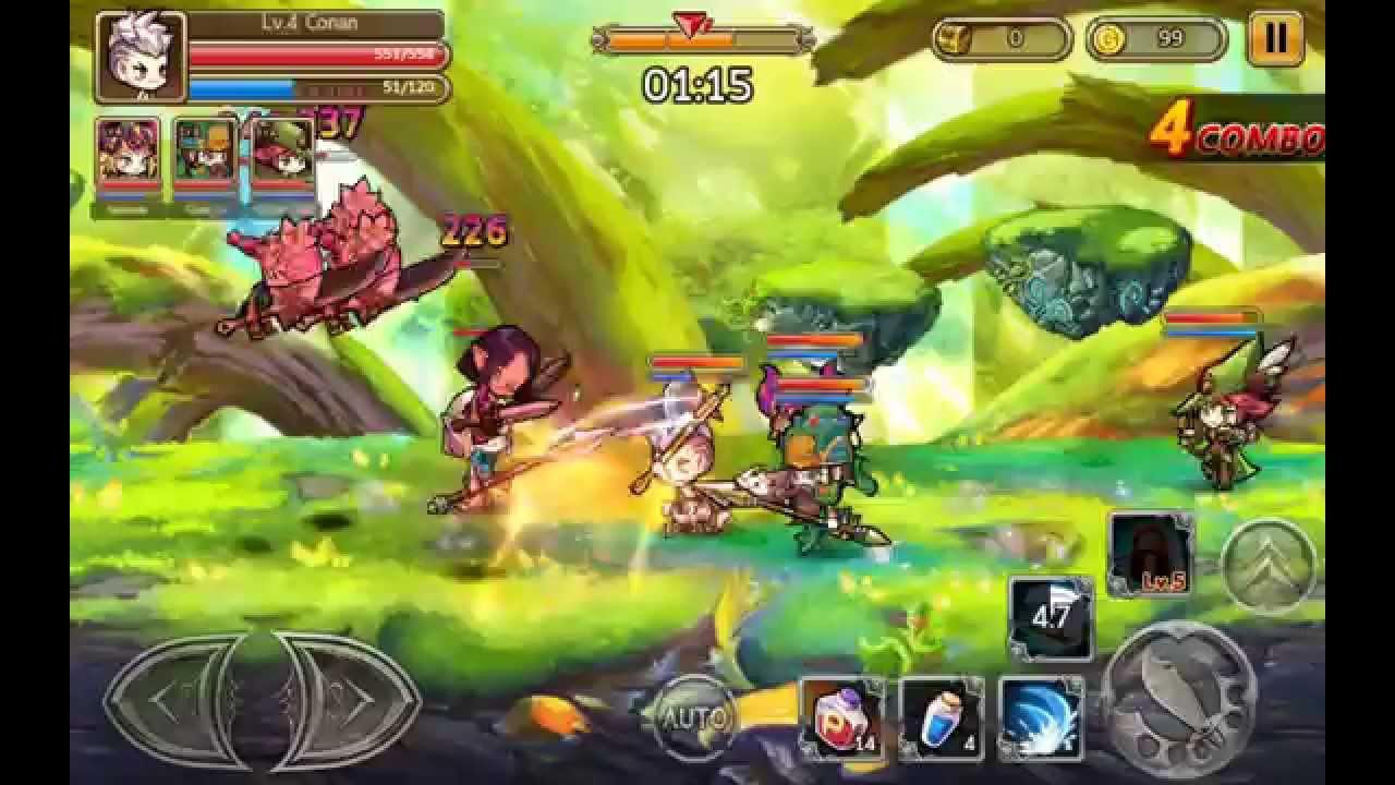 Chaos Battle Hero – Game Hàn bất ngờ hỗ trợ tiếng Việt