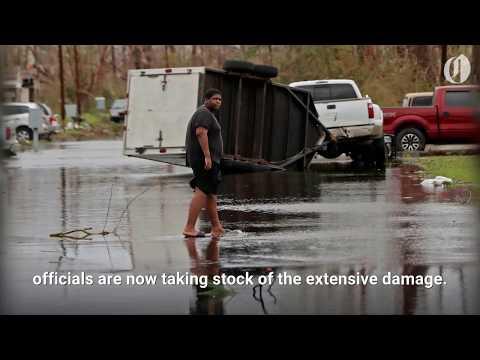Former Hurricane Michael hits Georgia & South Carolina after battering Florida
