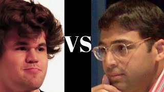 Blitz Chess Curiosity! Magnus Carlsen uses a kind of Reversed Budapest Gambit against Vishy Anand