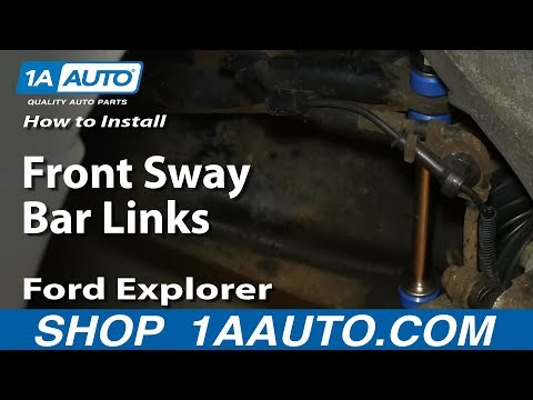 How To Install Replace Front Sway Bar Links 1995-2010 Ford Explorer Mercury Mountaineer