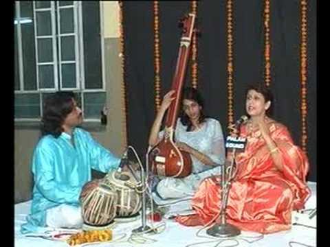 Raag Maru Bihag Live (1/3) at Jaipur by Dr. (Mrs.) Tanuja Nafde