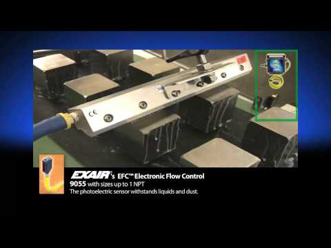 CE Compliant Air Knives Assure Safe Operations Video Image