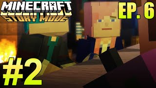 """Minecraft: Story Mode: Episode 6 """"A Portal to Mystery"""" Part 2 - WHO IS THE MURDERER?"""